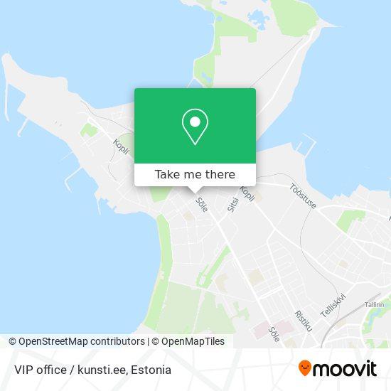 VIP office / kunsti.ee map