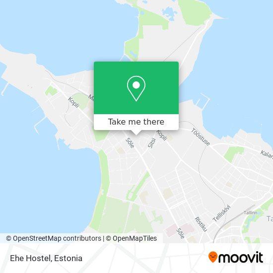 Ehe Hostel map