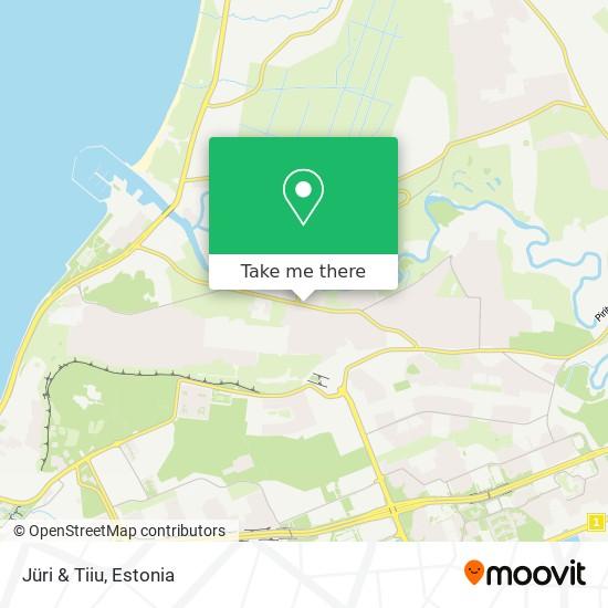 Jüri & Tiiu map