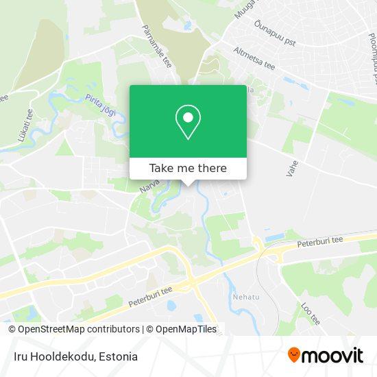 Iru Hooldekodu map