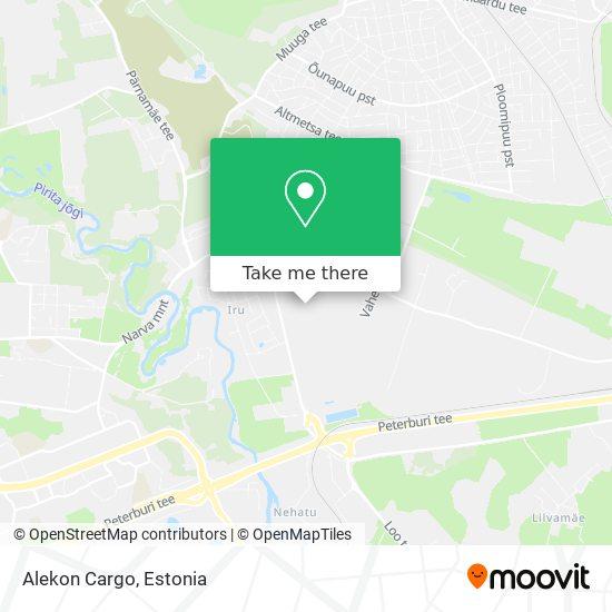 Alekon Cargo map