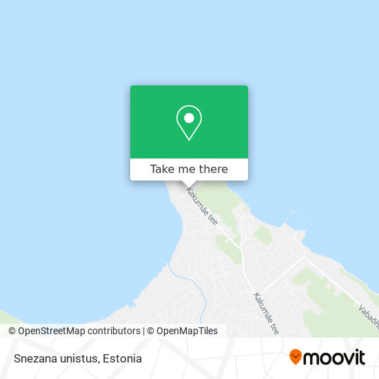 Snezana unistus map