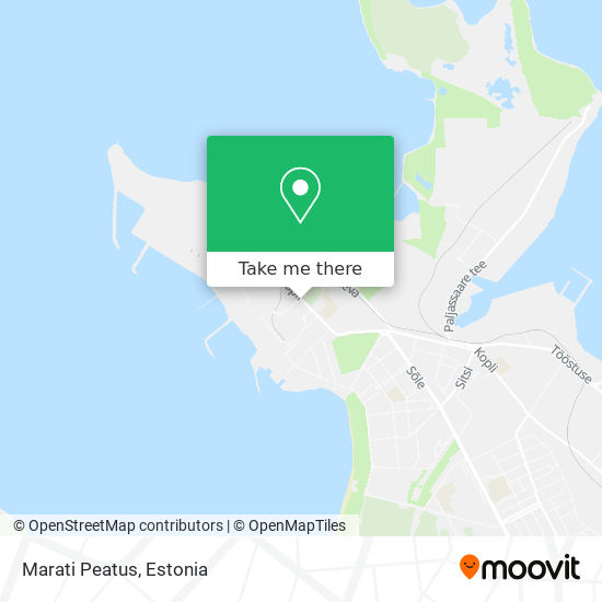 Marati Peatus map