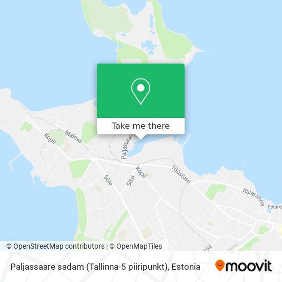 Paljassaare sadam (Tallinna-5 piiripunkt) map