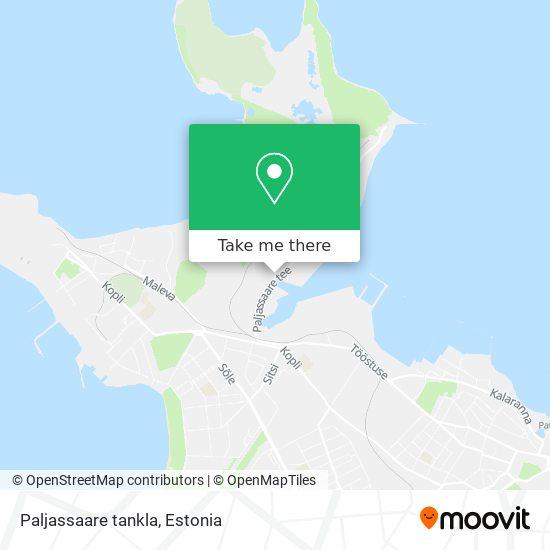Paljassaare tankla map