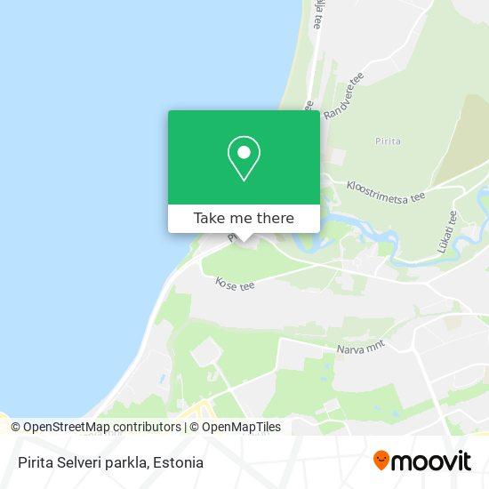Pirita Selveri parkla map