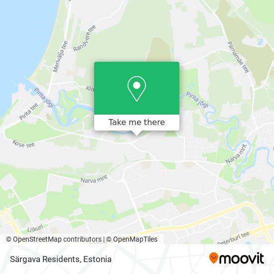 Särgava Residents map
