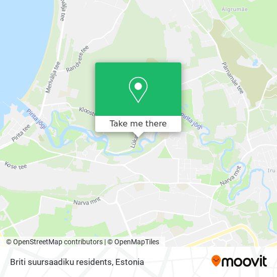 Briti suursaadiku residents map