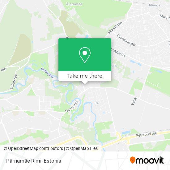 Pärnamäe Rimi map