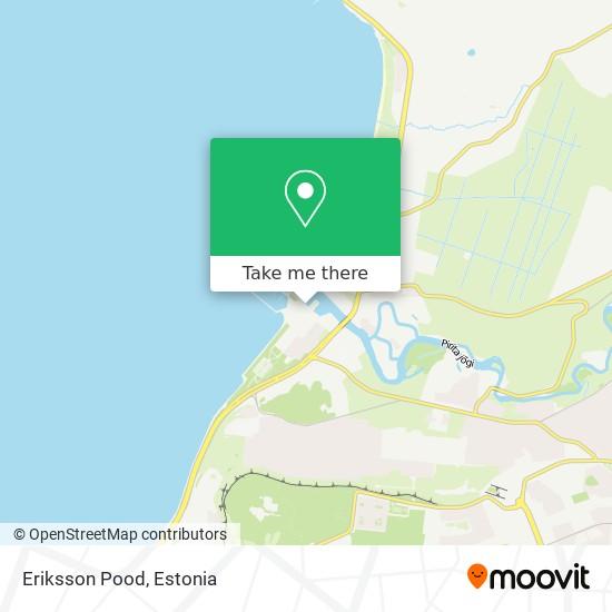 Eriksson Pood map