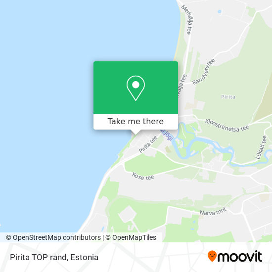 Pirita TOP rand map