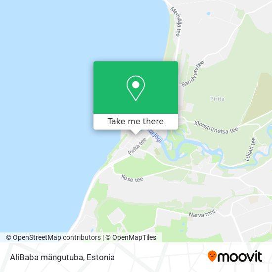 AliBaba mängutuba map