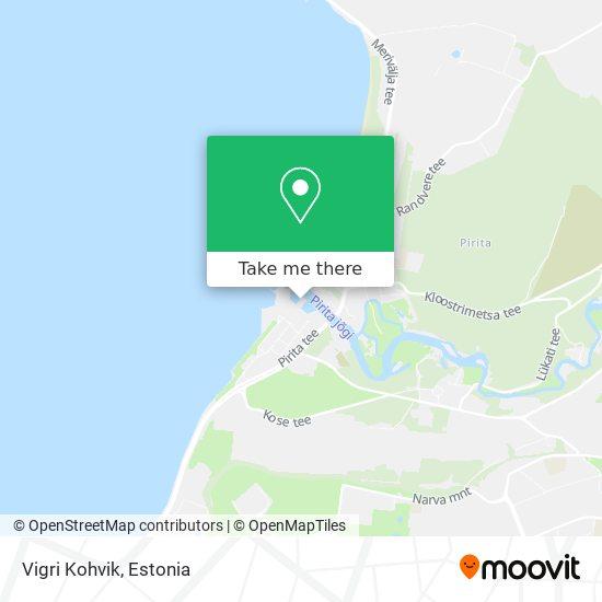 Vigri Kohvik map