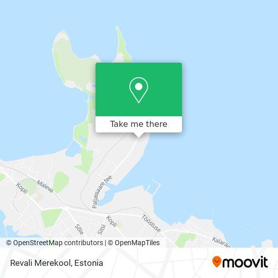 Revali Merekool map
