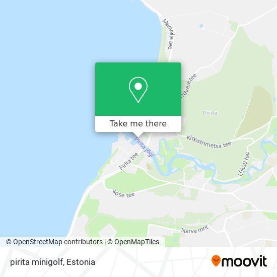 pirita minigolf map