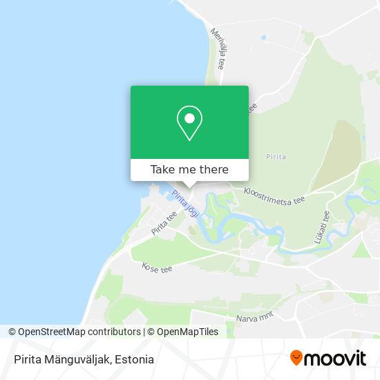 Pirita Mänguväljak map
