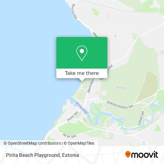 Pirita Beach Playground map