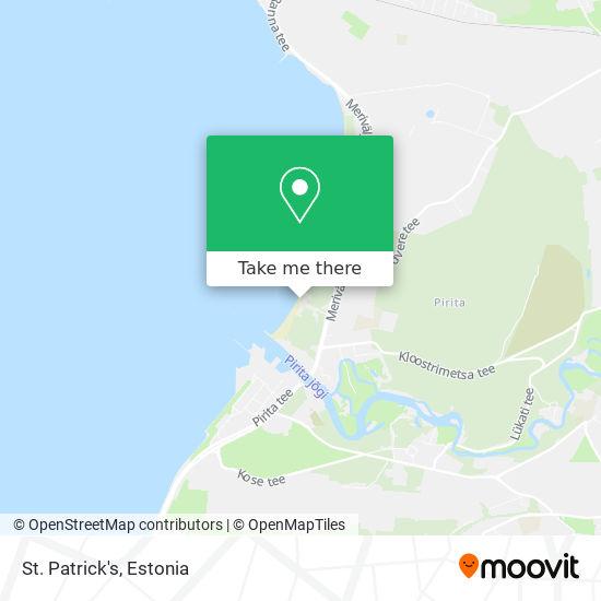 St. Patrick's map