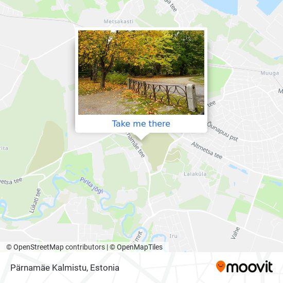 Pärnamäe Kalmistu map