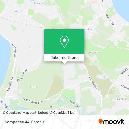 Sompa tee 44 map