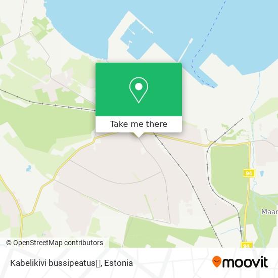 Kabelikivi bussipeatus🚍 map