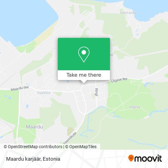 Maardu karjäär map
