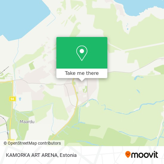 KAMORKA ART ARENA map