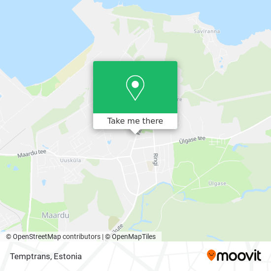 Temptrans map