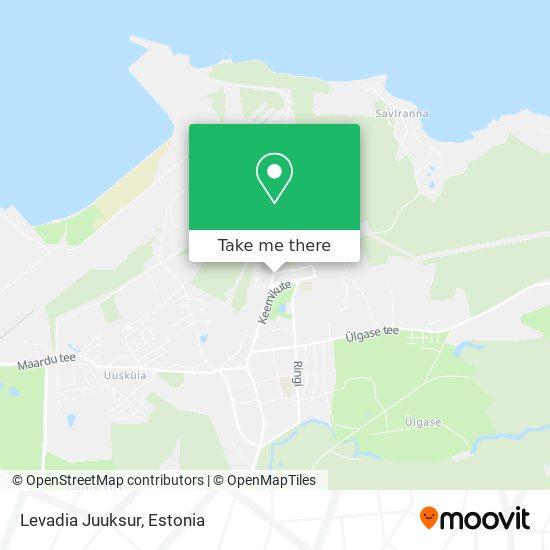 Levadia Juuksur map