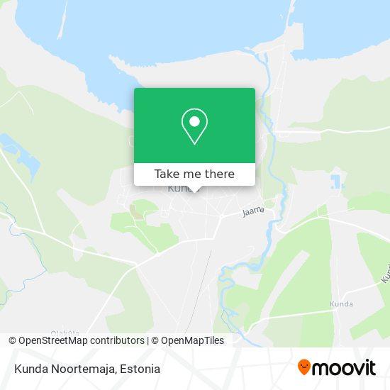 Kunda Noortemaja map