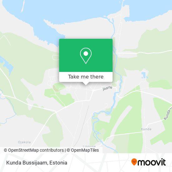 Kunda Bussijaam map
