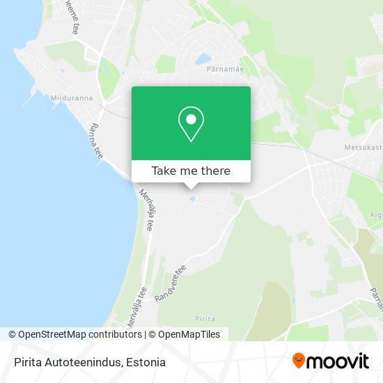 Pirita Autoteenindus map