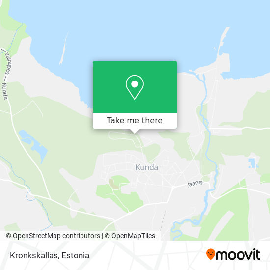 Kronkskallas map