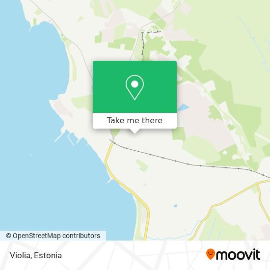 Violia map