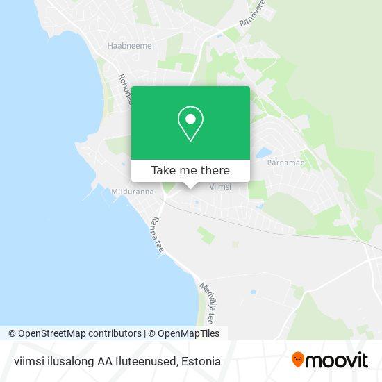 viimsi ilusalong AA Iluteenused map