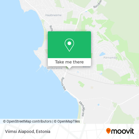Viimsi Aiapood map