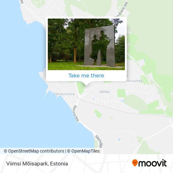 Viimsi Mõisapark map