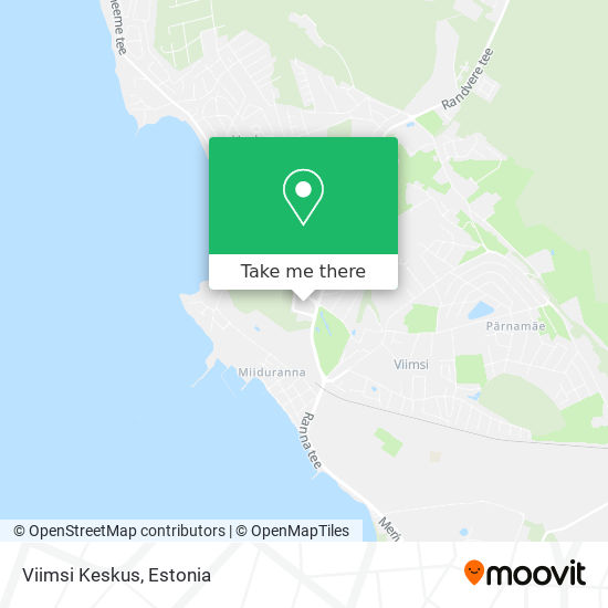 Viimsi Keskus map