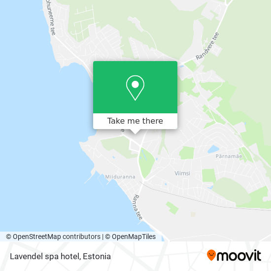 Lavendel spa hotel map