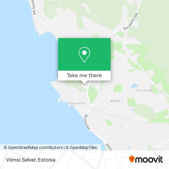 Viimsi Selver map