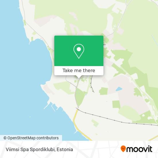 Viimsi Spa Spordiklubi map