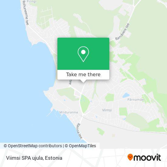 Viimsi SPA ujula map