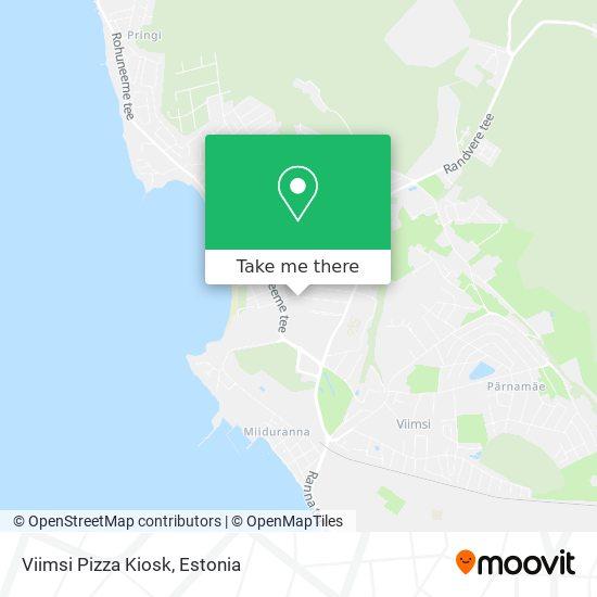 Viimsi Pizza Kiosk map