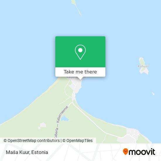 Maša Kuur map