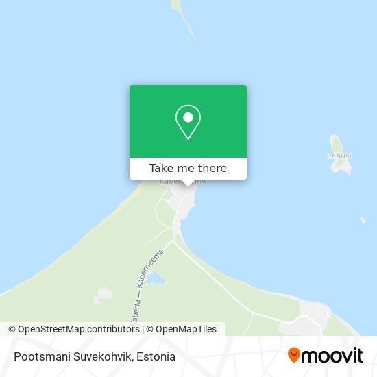 Pootsmani Suvekohvik map