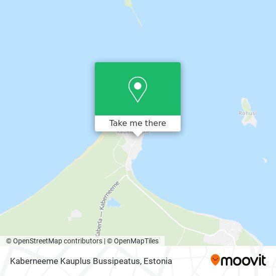 Kaberneeme Kauplus Bussipeatus map