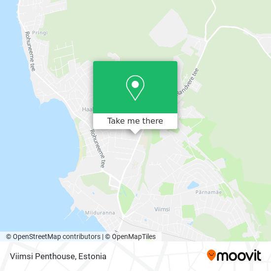 Viimsi Penthouse map