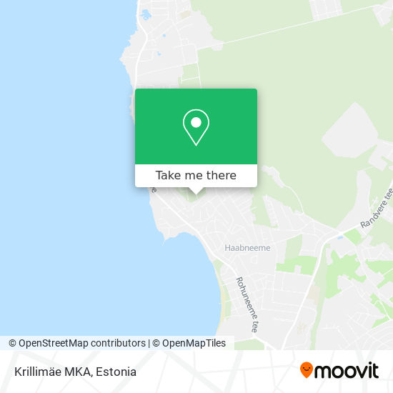 Krillimäe MKA map