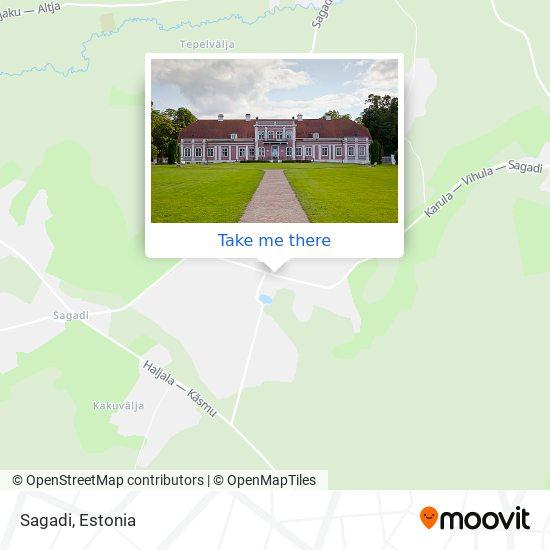 Sagadi map