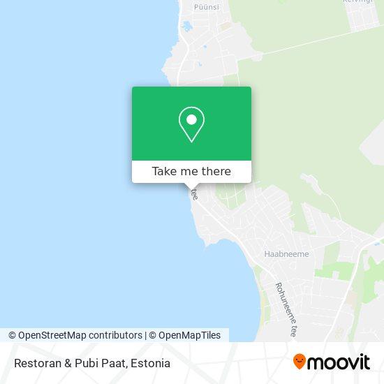 Restoran & Pubi Paat map